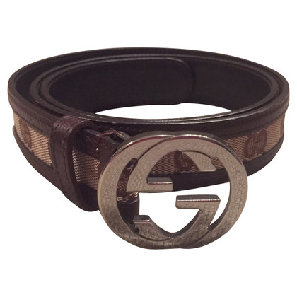 Gucci Monogram belt