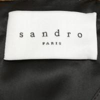 Sandro Kort jasje suède