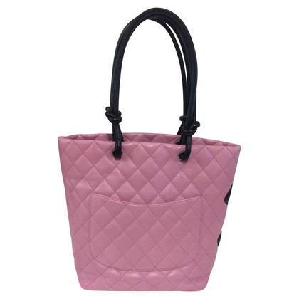 "Chanel ""Ligne Cambon"" roze handtas"