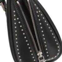 Alexander McQueen '' Heroine Mini Bag '' in black