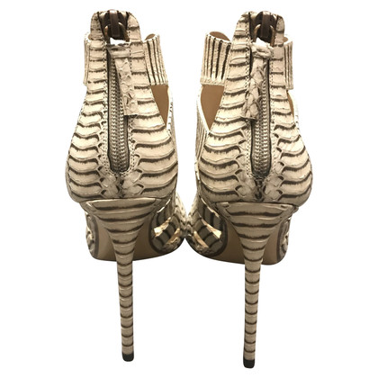 Francesco Russo Sandals made of snakeskin