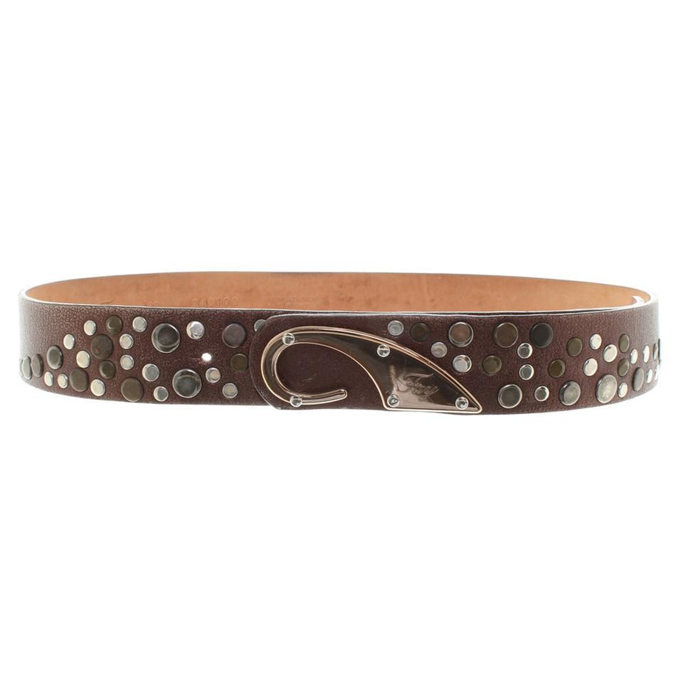 Fay Belt in brown