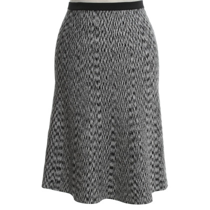 Sandro Issued skirt with pattern