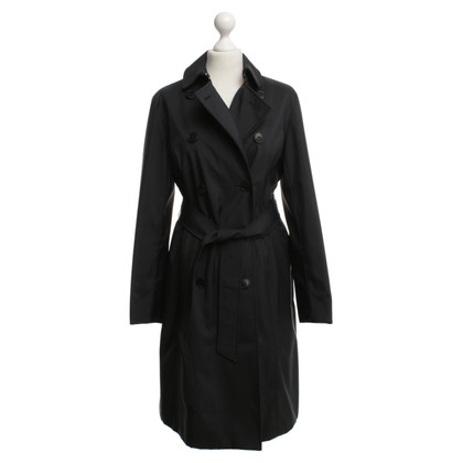 Aquascutum Coat in black