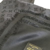 Louis Vuitton Black Louis Vuitton shawl