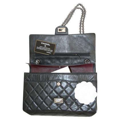 Chanel 2.55 Reissue Silber