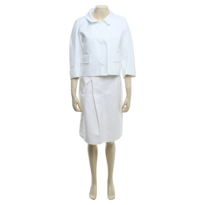 Jil Sander Costume in White