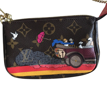 """Louis Vuitton """"Mini Pochette Accessoires Illustre"""""""