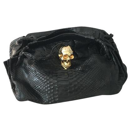 Philipp Plein Handtasche aus Pythonleder