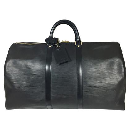 """Louis Vuitton """"Keepall 50 EPI ' in nero"""