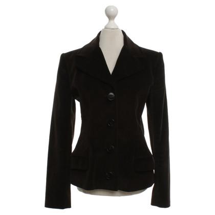 Dolce & Gabbana Velvet giacca in marrone