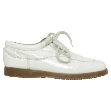 Hogan White sneaker made of patent leather