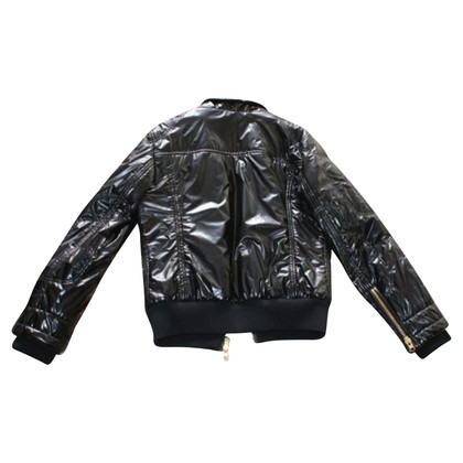 Fay Quilted jacket in black