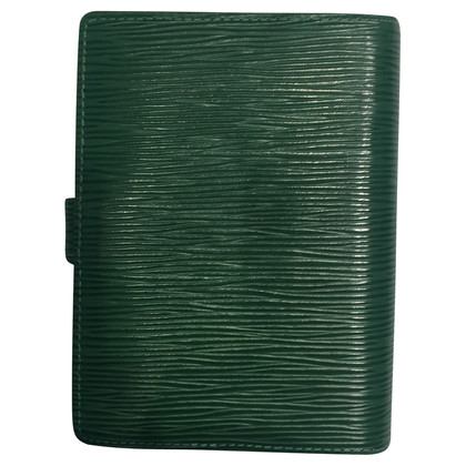 "Louis Vuitton ""Agenda PM EPI' in verde"