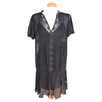 John Galliano Schwarzes Kleid