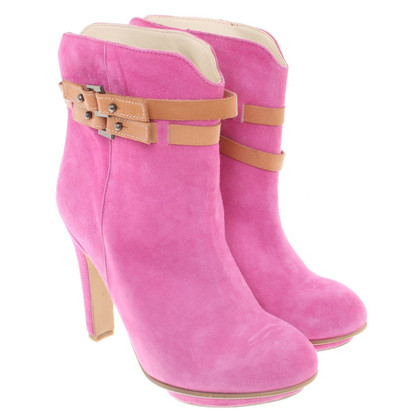 Stefanel Ankle boots in pink