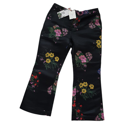 H&M (designers collection for H&M) Hose mit floraler Stickerei