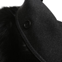 Burberry Coat with fur trim