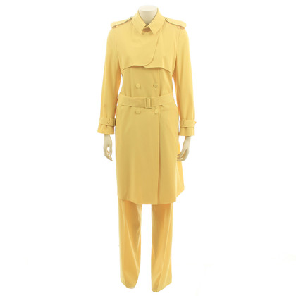 Bottega Veneta two-piece in yellow
