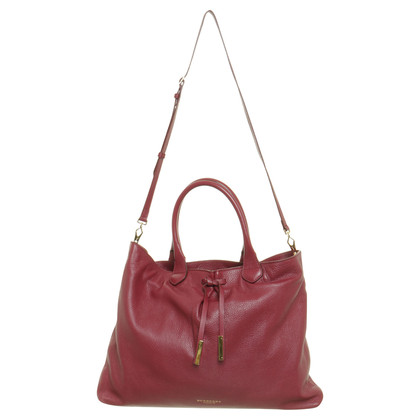 Burberry Prorsum Tote in Bordeaux