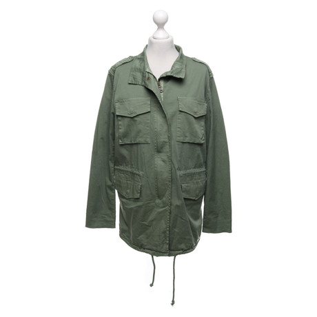 Camouflage Couture Baumwoll-Jacke in Gr眉n Gr眉n