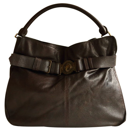 Burberry Tote in brown leather