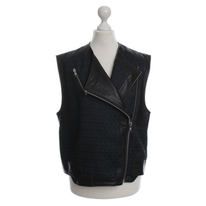 Helmut Lang Jacket with lamb leather trim