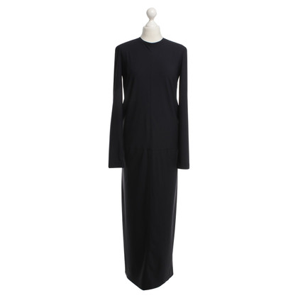 René Lezard Maxi dress in dark blue