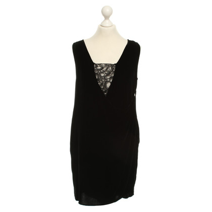 Diane von Furstenberg Velvet dress in black