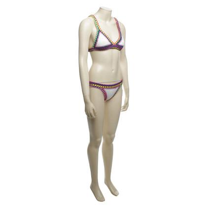 Kiini  Kleurrijke gehaakte bikini