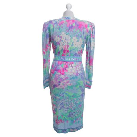 Leonard Kleid mit floralem Muster Bunt / Muster Online Günstig Online Größte Anbieter Verkauf Online Spielraum Geringe Versandgebühr Kaufen Zum Verkauf PYE0Iz