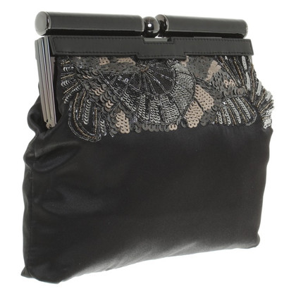 Karen Millen clutch in zwart