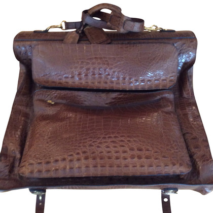 Other Designer Barantani - Crocodile travel bag