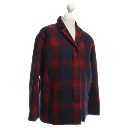 Bellerose Jacket in blue / red