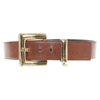 Escada Brown leather belt
