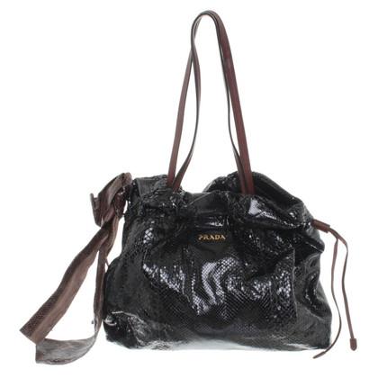 Prada Snake leather handbag