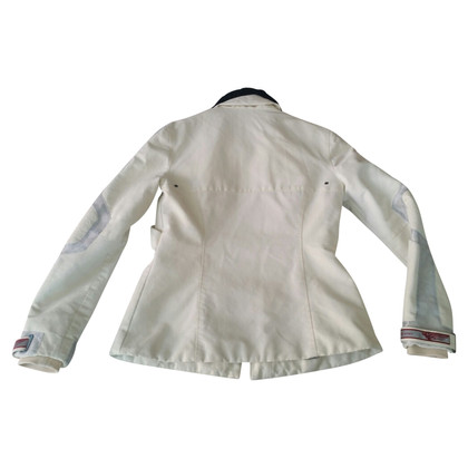 Versace Cotton champagne jacket