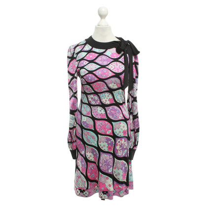 Emilio Pucci Kleid mit floralem Muster