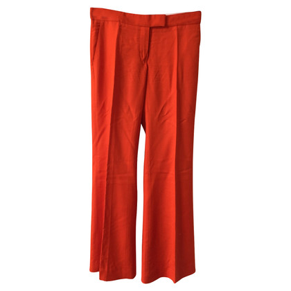 Stella McCartney trousers in orange