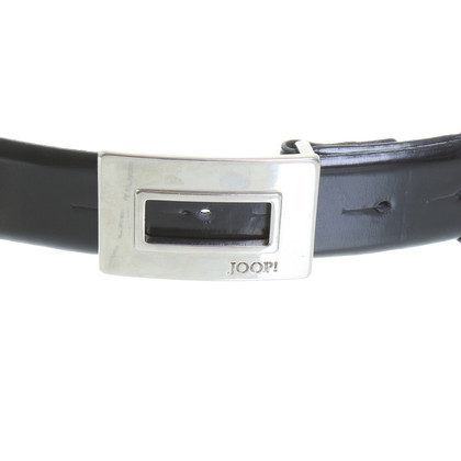 JOOP! Leather belt in black