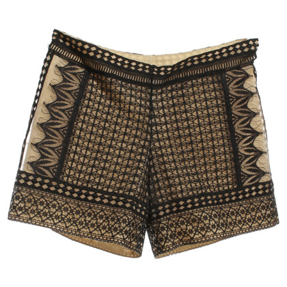 Alberta Ferretti Shorts in black