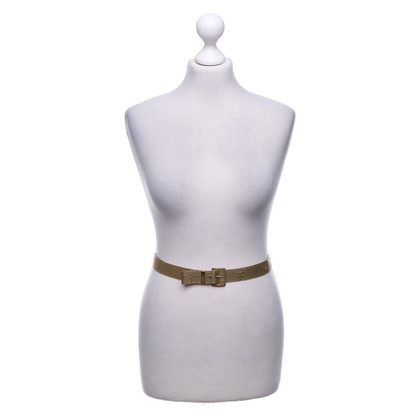 Chanel Cintura in metallo color oro