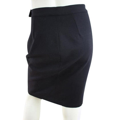 Max Mara Black wool skirt