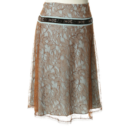 Blumarine Lace skirt