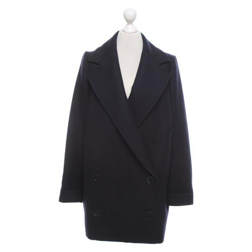 hot sale online 245e9 2e488 Stella McCartney Giacca/Cappotto in Lana in Blu - Second ...