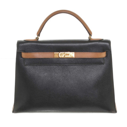 "Hermès ""Kelly Bag 32"" in bicolor"