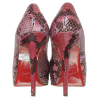 Christian Louboutin Pumps reptile leather