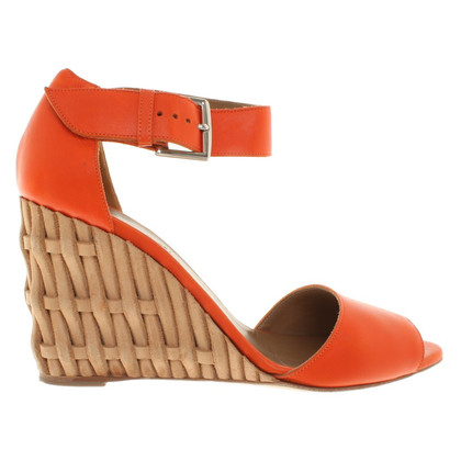 Hermès Wedges in orange