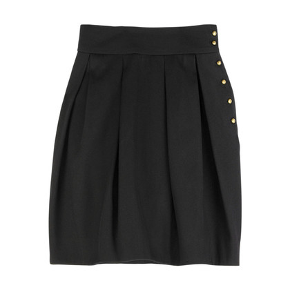 McQ Alexander McQueen Black pleated skirt
