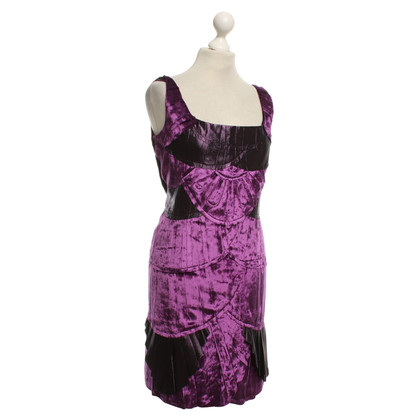 Alberta Ferretti Jurk in Purple